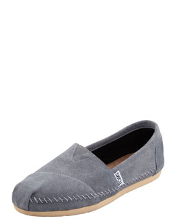 TOMS Shoes Sitka Whipstitched Alpargat Slip-On