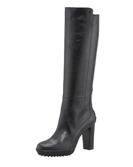 Tod's Napa High-Heel Gommini Boot