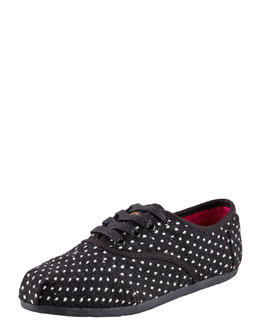 TOMS Polka-Dot Lace-Up
