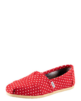 TOMS Polka-Dot Slip-On