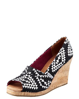 TOMS Reina Tribal Wedge