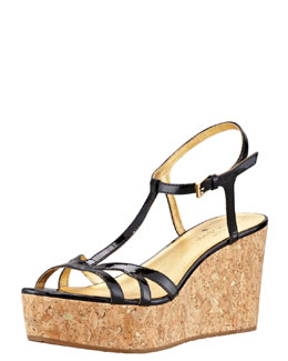 kate spade new york theodora cork wedge sandal