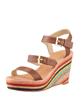 kate spade new york darla mid-wedge sandal