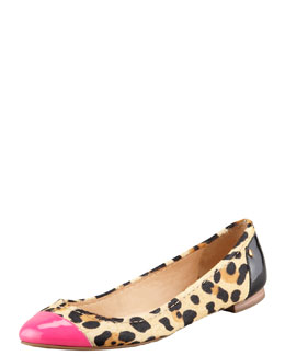 kate spade new york terry calf hair ballerina flat