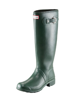 Original Tour Buckled Welly Boot, Green