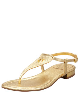 Tory Burch Britton Flat Thong Sandal