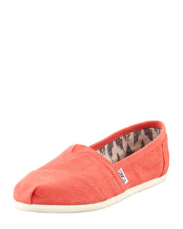TOMS Earthwise Hemp Slip-On, Orange