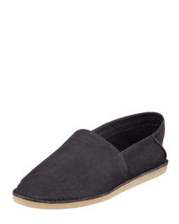 Vince Kia Foldable Ballerina Slip-On, Black