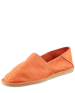 Vince Kia Foldable Ballerina Slip-On, Orange