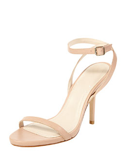 Elizabeth and James Toni Ankle Strap Bare Sandal, Nude