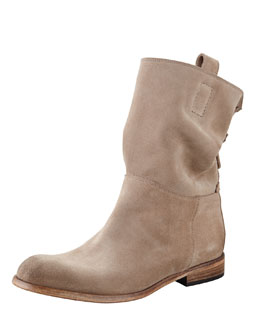 Umbria Back Detail Ankle Boot
