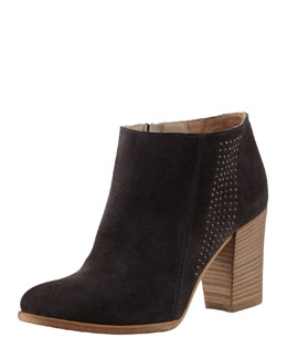 Alberto Fermani Vicenza Studded Suede Ankle Boot