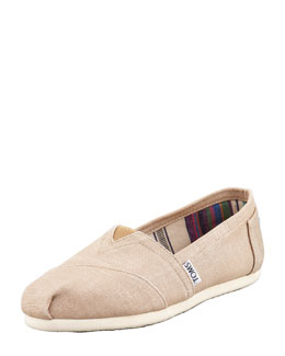 TOMS Metallic Hemp Slip-On