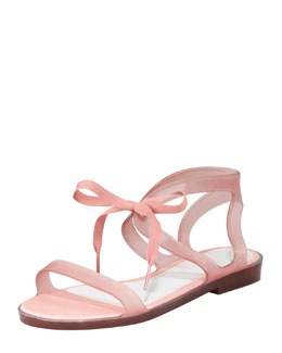 Jason Wu for Melissa Artemis Ribbon-Tie Jelly Sandal