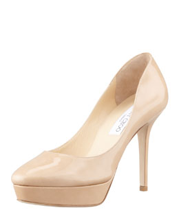 Jimmy Choo Aster Patent Low-Ranger Pump
