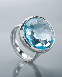 Ippolita Blue Topaz Lollipop Ring