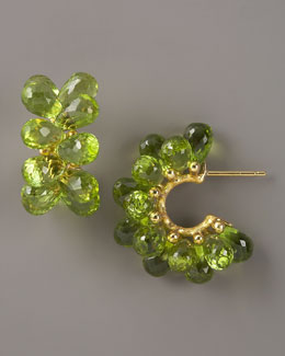 Joseph Murray Peridot Hoop Earrings