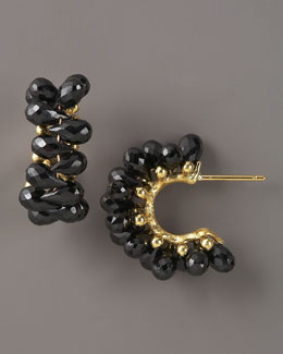 Joseph Murray Cluster Hoop Earrings