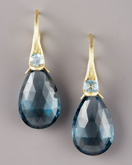 Joseph Murray Topaz Drop Earrings