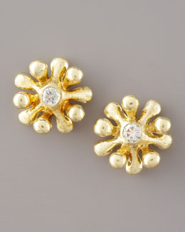 Joseph Murray Diamond Flower Studs