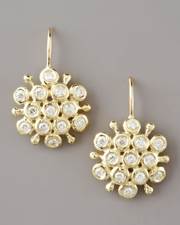 Joseph Murray Diamond Cluster Earrings