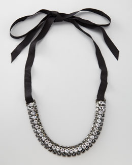 Lanvin Rhinestone Necklace