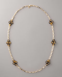 Tory Burch Clover-Station Necklace