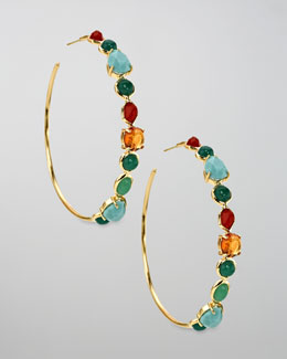 Ippolita Hoop Earrings, Riviera Sky