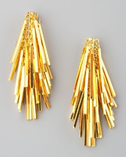 Eddie Borgo Tinsel Drop Earrings