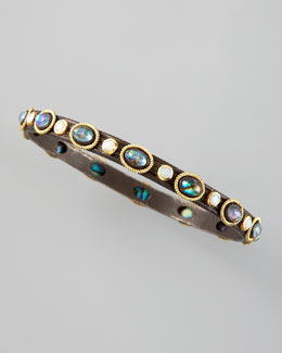 Armenta Midnight Mother-of-Pearl Bangle