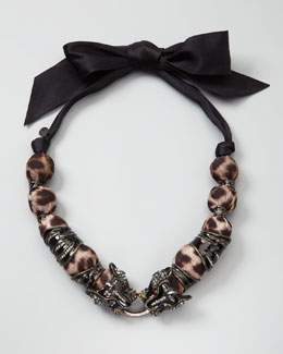 Lanvin Panther Necklace
