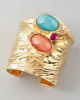 Yves Saint Laurent Treasury Three-Stone Cuff