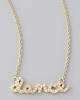 Sydney Evan Diamond Dance Necklace, Yellow Gold