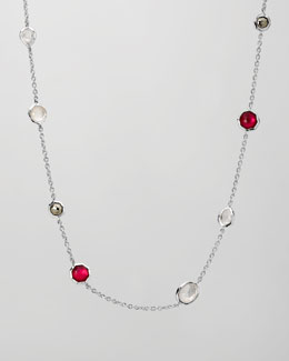 "Ippolita Multi-Stone Station Necklace, 18""L"