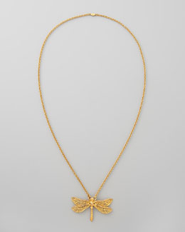 Alexander McQueen Dragonfly Necklace