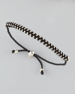 Alexander McQueen Ball Chain Friendship Bracelet