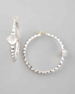 Stephen Webster Crystal Haze Hoop Earrings