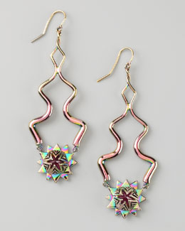 Eddie Borgo Pink Eve Earrings