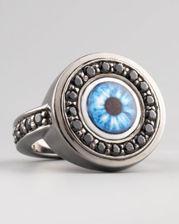 MCL by Matthew Campbell Laurenza Multicolor Evil Eye Ring