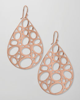 Ippolita Rose Gold Digital Lace Earrings