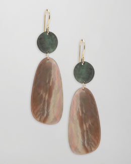 Ippolita Ondine Double-Drop Shell Earrings