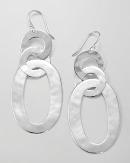 Ippolita Triple Roma-Link Earrings, Silver