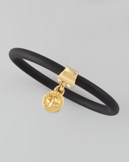 MARC by Marc Jacobs Chunky Rubber Bangle, Black