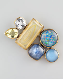 Stephen Dweck Multi-Stone Pin