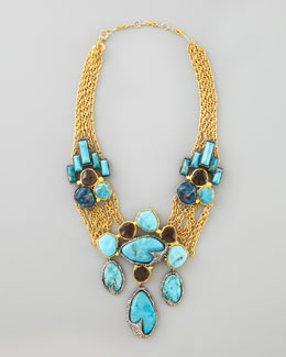 Alexis Bittar Cordova Antiqued Large Necklace