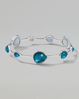 Ippolita Wonderland Silver Teardrop Bangle