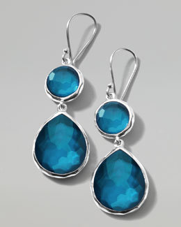 "Ippolita Wonderland Snowman Drop Earrings, 4/5""L"