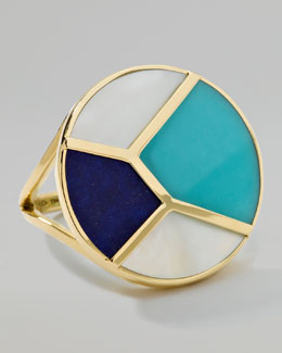 Ippolita Gold Rock Candy Mosaic Ring