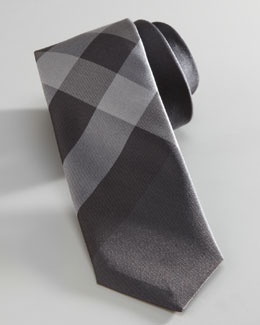 Burberry Mini Beat Check Silk Tie
