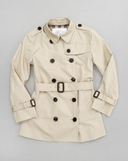 Burberry Mini Twill Trenchcoat